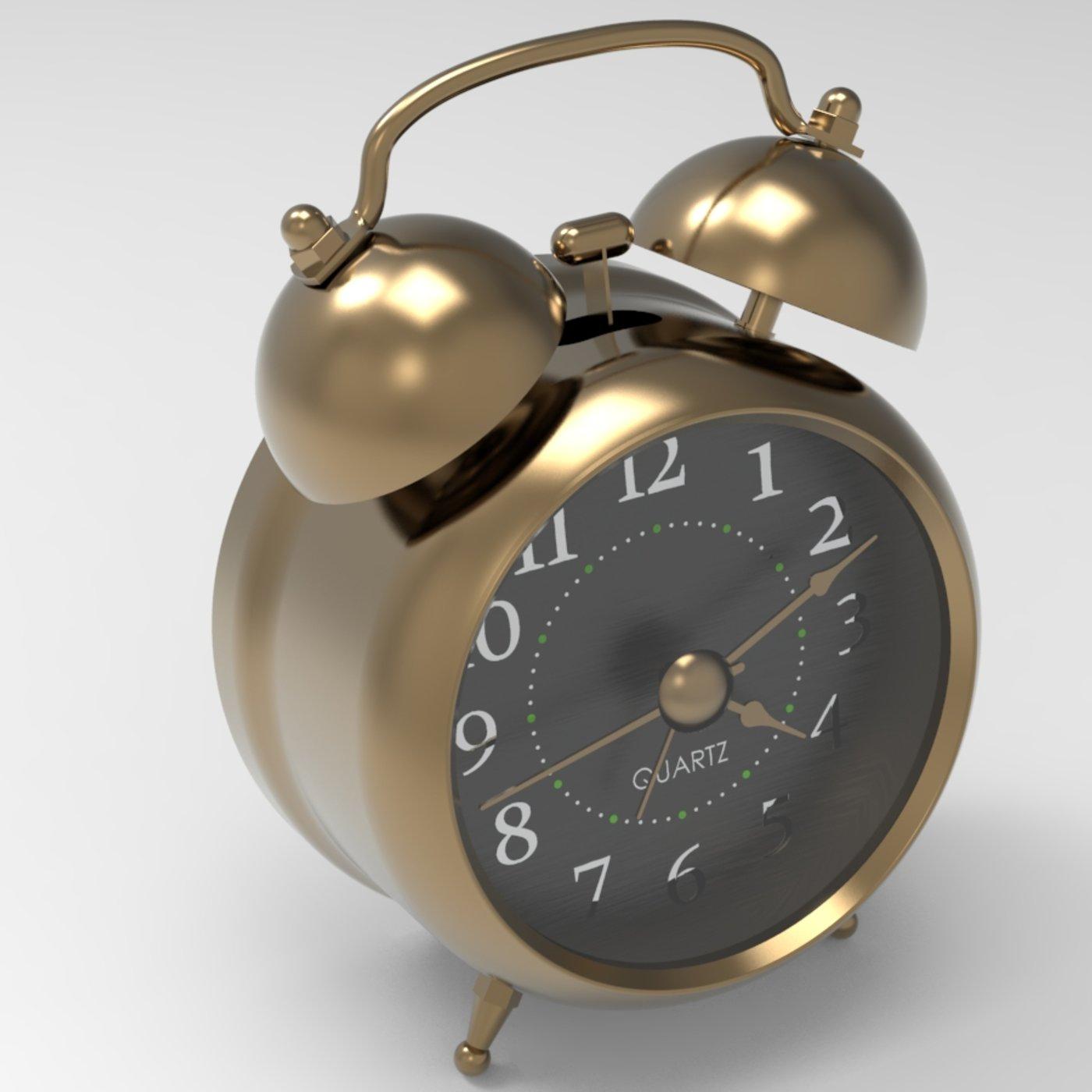 Twin Bell Alarm Clock - Old Fashion
