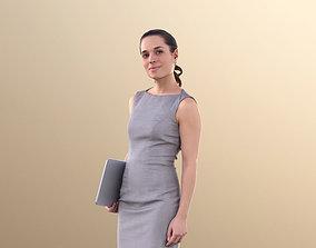 Juliette 10809 - Business Woman Walking With 3D asset
