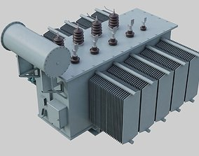Electrical Transformer 2A 3D model