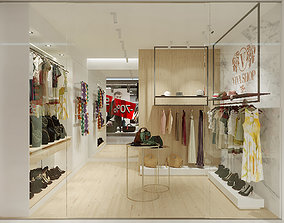 3D SMALL CLOTHES STORE