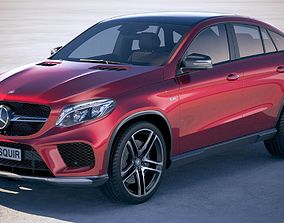 3D Mercedes GLE AMG coupe 2018