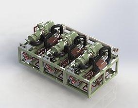 3D Chiller Unit