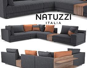3D Sofa NATUZZI Melpot sectional 2