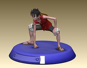 secondgear Monkey D Luffy 3D Model