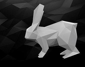 3D Printable Rabbit model