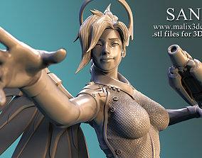 Ange overwatch 3D print model