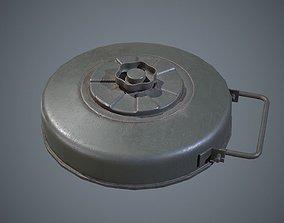 Mine German WW2 3D model