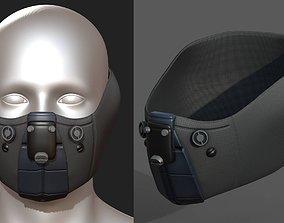 Gas mask respirator VR / AR ready 2