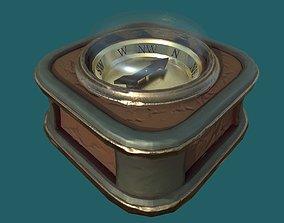 Compass 3D model VR / AR ready