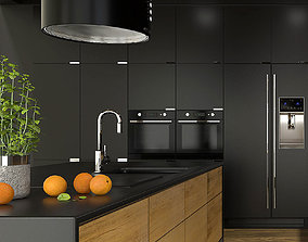 3D model Modern kitchen interior