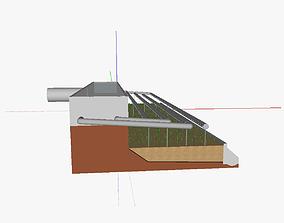 AT vertical flow reedbed 3D
