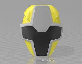 Power Rangers Yellow Ninja KiNinger 3D printable model 1