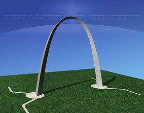 3D asset Gateway Arch