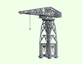 3D Imperial Japanese Navy 40tons Jib Crane