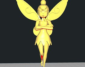 3D print model Tinkerbell Hovering character