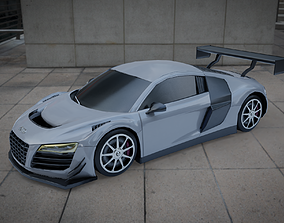 Audi R8 LMS 3D asset VR / AR ready