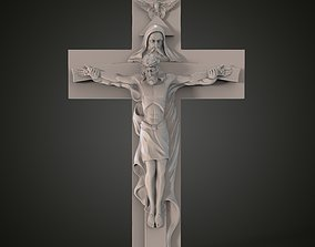 3Dmodel Catholic Cross