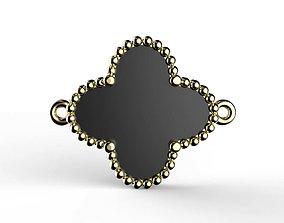 van cleef arpel Magic Alahambra Bracelet 3D print model