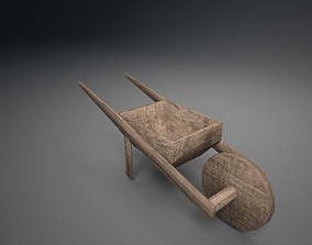 3D model Low Poly Barrow