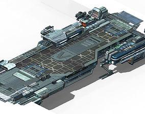 Space Station - Bridge 02 3D