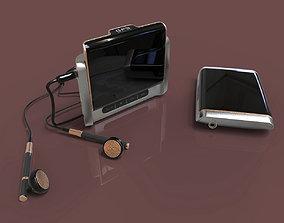 GPS built in mini media device design 3D modeling source