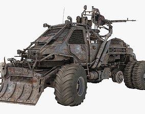 3D Apocalyptic Truck 001