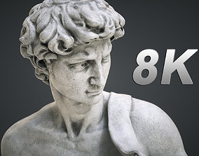3D asset Michelangelo David Statue