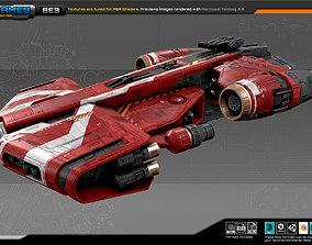 FEDERATION Destroyer BE3 3D asset