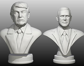 3D print model Trump Pence pack
