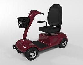 Mobility Scooter 3D