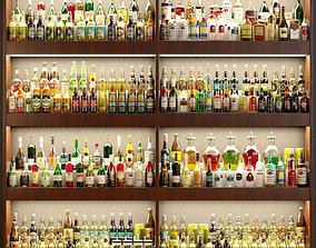 Big bar 8 Alcohol 3D