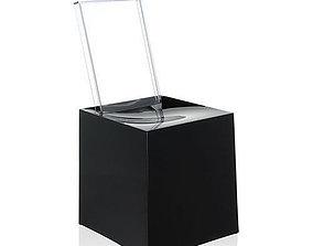 Kartell Miss Less Chair 3D asset