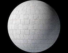 Grey Pavement Tileable 3D Texture