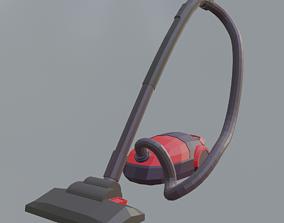 Vacuum Low Poly 3D model