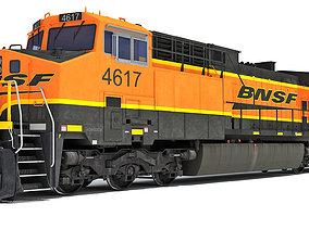 Locomotive GE AC4400CW BNSF 3D model
