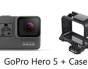 GoPro Hero 5 - Element 3D game-ready