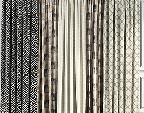 Curtain Set 63 3D