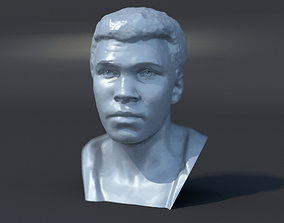 Muhammad Ali 1964 3D print model sculpture