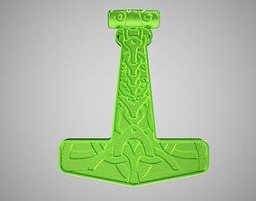 Mjolnir Necklace 3D print model