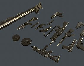3D asset Armament Ready for Killing Zombies Pack