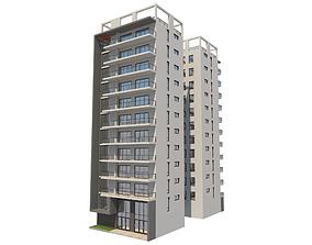 Apartment Building 13 3D