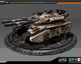 RTS Heavy Tank - 03 3D model