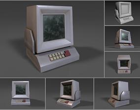 Simple Stylized Retro Cartoony PC 3D model