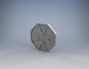 Shield of the Dwarven King 3D print model