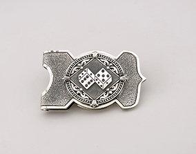 Money clip 3D printable model jewel