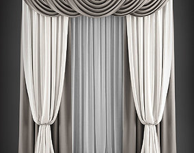 Curtain 3D model 181 realtime
