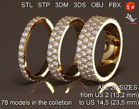Infinity rings In Pack 3D model