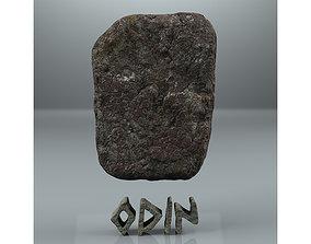 3D Odin Viking rune