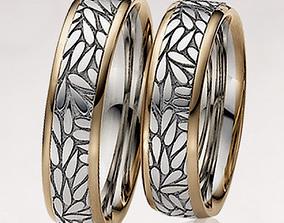 3D print model Wedding ring 002