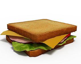 3D model Sandwich